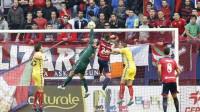 Osasuna continúa sólido y sigue líder tras golear al Lugo