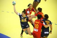 España comienza con victoria ante Austria (25-15) la clasificación al Europeo de Suecia