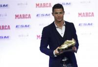 Cristiano Ronaldo recibe este martes su cuarta Bota de Oro
