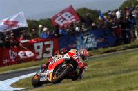 Márquez logra la pole y Lorenzo le gana la partida a Rossi
