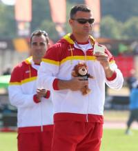 David Casinos consigue el primero oro para España en el Mundial de Doha