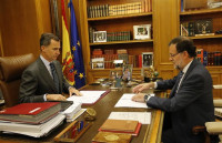 El Rey modifica su agenda para estar atento al Consejo de Ministros que recurrirá la declaración soberanista