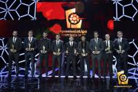 Leo Messi, Mejor Jugador y Mejor Delantero, deslumbra en la Gala de los #PremiosLaLiga 2015