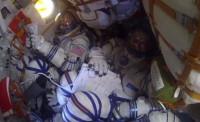 Tres miembros de la ISS regresan tras cinco meses en órbita