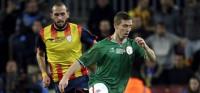 Un gol de Aduriz decanta el triunfo (0-1) de Euskadi contra Cataluña en el Camp Nou