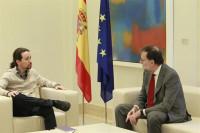 Iglesias insiste en la exigencia de referéndum en Cataluña y ve al PSOE