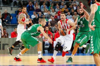 Olympiacos acaba con su mala racha en el Buesa Arena