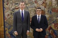 Patxi López entregará el lunes al Rey la lista de partidos que quieren ir a las consultas