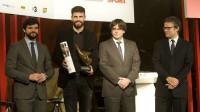 Piqué, mejor deportista catalán de 2015
