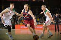 Baskonia toma posiciones a costa del Barça