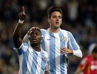 El Málaga sentencia al Getafe en la primera mitad
