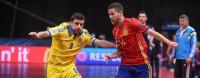 España cumple ante Ucrania y se medirá con Portugal en cuartos