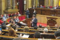 Puigdemont y la CUP abordan el pacto de estabilidad y el Presupuesto