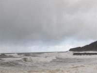 28 provincias estarán hoy en alerta por nieve, viento y olas de hasta 8 metros en el Atlántico