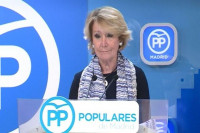 Esperanza Aguirre señala que ha sido un