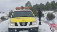 Las temperaturas siguen bajando y un nuevo frente dejará precipitaciones, de nieve sobre 500 metros