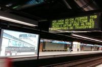 La huelga de Metro de Barcelona cumple los servicios mínimos con menos viajeros de lo habitual