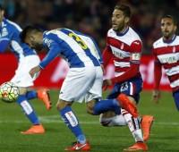 Granada y Espanyol se reparten los puntos y los nazaríes salen del descenso
