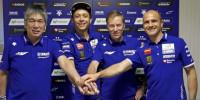 Rossi renueva con Yamaha dos años más