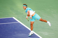 Djokovic somete a un gran Nadal y repite final en Indian Wells
