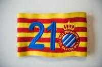 El Espanyol recupera el dorsal 21 de Dani Jarque, que será siempre para un canterano