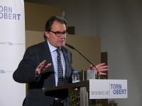 Artur Mas dice que la prioridad es modernizar CDC y no quién liderará el partido