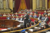 Puigdemont dice que el nuevo objetivo de déficit no es