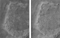 Una nueva técnica logra visión de calidad 'drone' sobre Marte