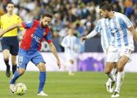 El Levante consuma su descenso a Segunda en Málaga