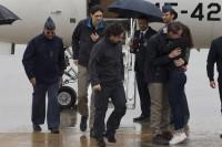 Los tres periodistas liberados estuvieron localizados por el CNI en todo momento