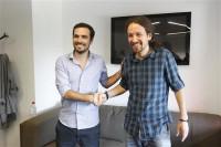 Podemos e IU alcanzan un acuerdo para concurrir juntos a las elecciones