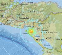 Registrado un terremoto de magnitud 6,1 en el este de Nicaragua