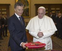 El Papa Francisco rechaza una millonaria donación del Gobierno de Macri