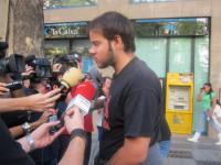 El rapero Hasel dice que la AN le imputa comentarios contra la monarquía y la policía