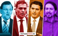España celebra sus decimoterceras elecciones de la democracia