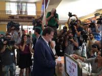 Rajoy, tras votar: