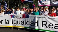 Un millón de asistentes celebran en Madrid la marcha del Orgullo