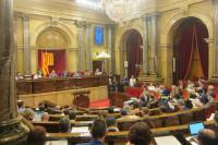 Ciudadanos y PP piden en el Parlament que Puigdemont comparezca sobre los registros