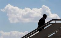 El presidente de EEUU finaliza su visita tras un breve encuentro con Sánchez, Iglesias y Rivera