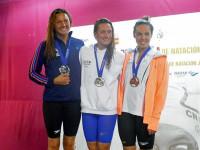 Mireia Belmonte comienza con oro y récord de los campeonatos en el 800 libre