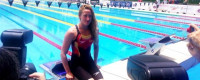 Mireia Belmonte repite oro y récord en 200 mariposa