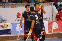 España debuta con una gran victoria en el Europeo de hockey patines