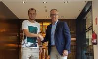 El delantero ucraniano Roman Zozulya, nuevo jugador del Real Betis