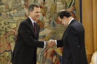 El Rey cierra su cuarta ronda de consultas recibiendo a Ciudadanos, Podemos, PSOE y PP