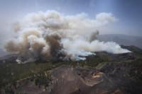 1.500 personas más evacuadas en Palma por riesgo de que el fuego avance