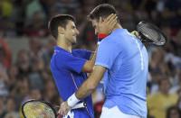 Del Potro se carga a Djokovic en la primera ronda de Río