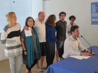 Sánchez (Anova), Santos (Podemos) y una independiente acompañan a Villares en la lista de En Marea