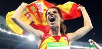 Beitia se convierte en la primera atleta española campeona olímpica