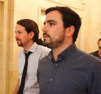 Alberto Garzón será finalmente el portavoz de Unidos Podemos en la comisión de Hacienda
