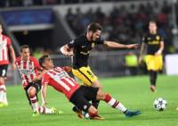 Saúl saca con vida al Atlético de su estreno en 'Champions'